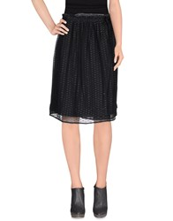 Swildens Skirts Knee Length Skirts Women Black