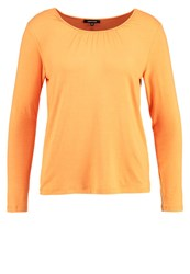 More And More Long Sleeved Top Fresh Peach Orange