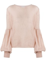 Dondup Balloon Sleeve Relaxed Fit Jumper 60
