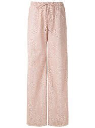 Olympiah Tournesol Lace Wide Leg Trousers 60