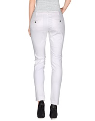 40Weft Casual Pants White
