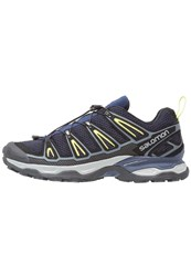 Salomon X Ultra 2 Walking Shoes Navy Blazer Ombre Blue Sulphur Spring Dark Blue