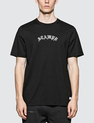 Stampd Black Anglo S S T Shirt