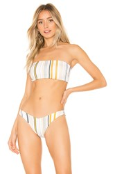 Kopper And Zink Tyler Bandeau Top White