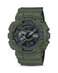 G Shock Xl Military Ana Digi Watch 51.2Mm Green