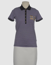 Baci And Abbracci Polo Shirts Purple