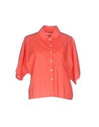 Band Of Outsiders Shirts Coral