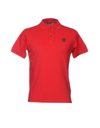 Refrigiwear Topwear Polo Shirts Red
