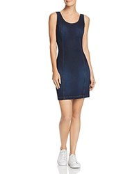 Guess Body Con Denim Dress Mona Dark