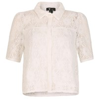Cutie Lace Shirt White