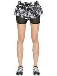 Adidas By Stella Mccartney Running 2 In 1 Climalite Shorts