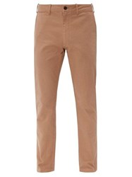 Saturdays Surf Nyc John Cotton Twill Chino Trousers Tan