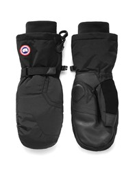 Canada Goose Down Filled Mittens Black