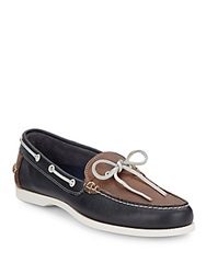 Cole Haan Dominick Colorblock Leather Boat Shoes