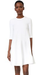 Antonio Berardi Long Sleeve Dress White
