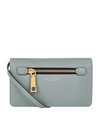 Marc Jacobs Small Gotham Cross Body Bag Female Blue