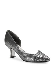 Adrianna Papell Harriet Pleated D Orsay Pumps Pewter