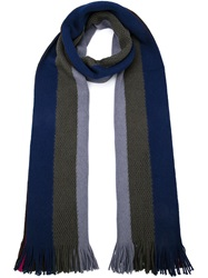 Paul Smith Striped Scarf Multicolour