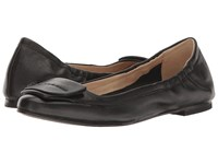 Hush Puppies Livi Heather Black Leather Women's Flat Shoes