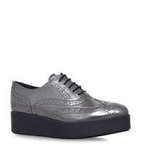 Carvela Kurt Geiger Leslie Metallic Brogues Female Grey