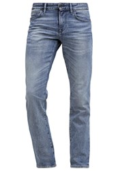 Boss Orange 63 Barcelona Straight Leg Jeans Bright Blue Blue Denim
