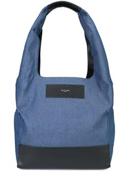 Rag And Bone Denim Blue Tote