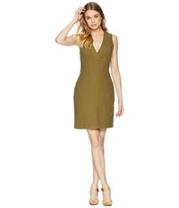 Ag Adriano Goldschmied Melissa Dress Olive Grove Brown