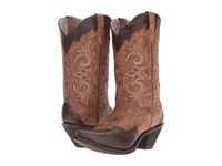 Laredo Ginger Brown Cowboy Boots
