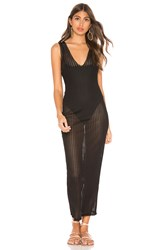 Privacy Please Nico Maxi Dress Black