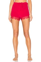 Keepsake Dreamland Silk Short Red