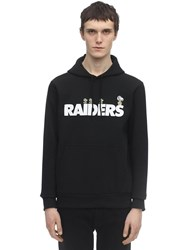 New Era Nfl X Peanuts Raiders Cotton Hoodie Black