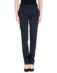 Hotel Trousers Casual Trousers Women Dark Blue