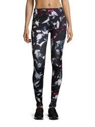 Beyond Yoga Abstract Print Leggings Palette Knife