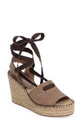 Bettye Muller Women's Christina Wedge Espadrille Grey