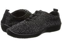 Arcopedico Ls Black Starry Nite Women's Lace Up Casual Shoes
