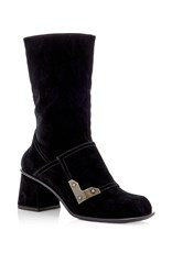 Tomas Maier Black Heart Ankle Boot
