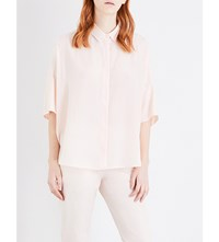 Jil Sander Cassidy Silk Shirt Light Pastel Pink