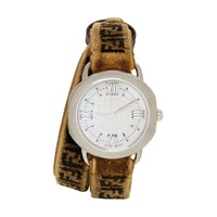 Brown 'Forever Fendi' Selleria Set Watch