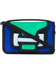 Pierre Hardy Colour Block Clutch Blue