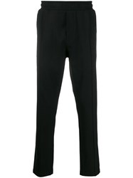 Low Brand Pull On Straight Leg Trousers Black