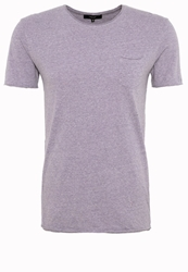 Villain Ellen Basic Tshirt Purple Melange