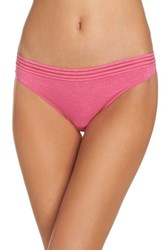 B.Tempt'd By Wacoal Active Thong Pink Peacock