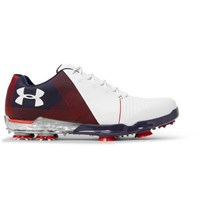 Under Armour Spieth 2 Gore Tex Golf Shoes White
