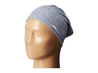 Steve Madden Heather Ribbed Beanie Denim Beanies Blue
