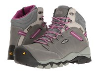 Keen Utility Canby At Waterproof Gargoyle Vapor Women's Work Pull On Boots Gray