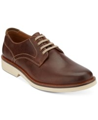 Dockers Men's Parkway Leather Oxfords Men's Shoes Tobacco