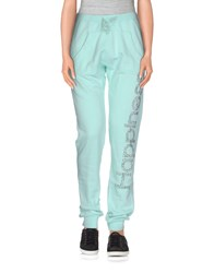 Happiness Trousers Casual Trousers Women Turquoise