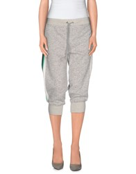 Pam And Gela Trousers 3 4 Length Trousers Women Light Grey
