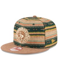 New Era Cleveland Cavaliers The Natural Print 9Fifty Snapback Cap Assorted Tan