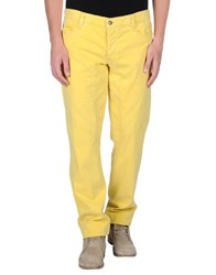 9.2 By Carlo Chionna Trousers Casual Trousers Men Yellow